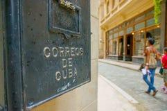 Unesco declared historic center of Havana Stock Photos