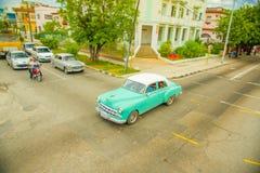 Unesco declared historic center of Havana Stock Image