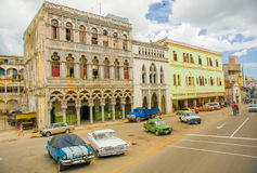 Unesco declared historic center of Havana Royalty Free Stock Images