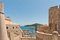UNESCO-Erbe Dubrovnik Lizenzfreies Stockbild