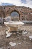 Unesco-Erfenisplaats van de Oude Stad van Ephesus, Selcuk, Tur Stock Fotografie