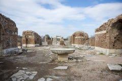 Unesco-Erfenisplaats van de Oude Stad van Ephesus, Selcuk, Tur Royalty-vrije Stock Foto