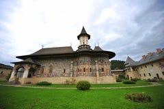 unesco för sucevita för arvmoldavia kloster Arkivbilder