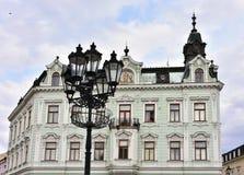 UNESCO geschützte Stadt Kromeriz, Tschechische Republik stockfotos