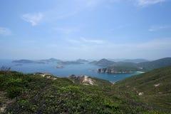 UNESCO globales Geopark, Sai Kung, HK lizenzfreie stockbilder