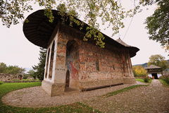 UNESCO heritage -Moldavian monasteries: Humor Royalty Free Stock Images