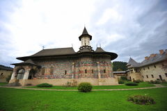 UNESCO heritage - Monasteries of Moldavia:Sucevita Stock Images