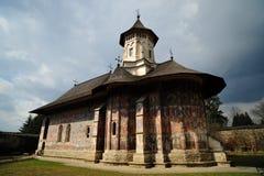 UNESCO heritage - Moldovita Monastery in Romania Royalty Free Stock Image