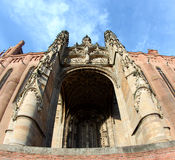 Unesco Heritage Site Albi Cathedral in France Royalty Free Stock Photography