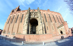 UNESCO Heritage Site Albi Cathedral in France Royalty Free Stock Photo