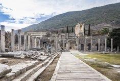 Unesco Heritage Site of the Ancient City of Ephesus, Selcuk, Tur Stock Photos