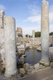 Unesco Heritage Site of the Ancient City of Ephesus, Selcuk, Tur Stock Images
