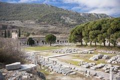 Unesco Heritage Site of the Ancient City of Ephesus, Selcuk, Tur Royalty Free Stock Photos