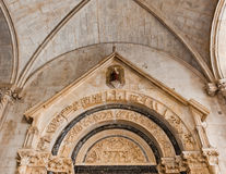 Unesco Heritage Trogir in Croatia Royalty Free Stock Photography