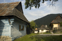 UNESCO Heritage - Vlkolinec Stock Photos