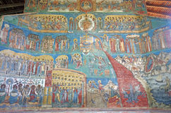 Unesco Heritage - Voronet monastery Royalty Free Stock Photography