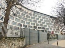 Unesco-Hoofdkwartier in Parijs royalty-vrije stock foto's