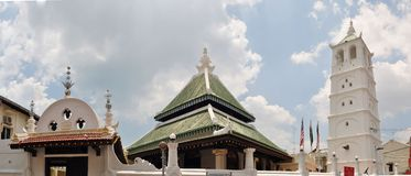 UNESCO Kampung Kling Mosque. Malacca, Malaysia Stock Images