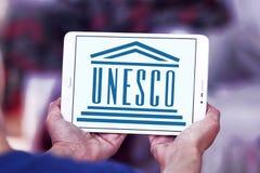 UNESCO logo Fotografia Stock