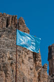 UNESCO-Markierungsfahne Lizenzfreie Stockfotos