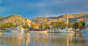 UNESCO miasto Trogir linia horyzontu fotografia royalty free