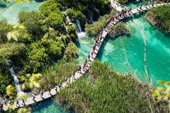 UNESCO National Park in Croatia Stock Image