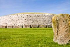 UNESCO Site Newgrange In Ireland Royalty Free Stock Photo