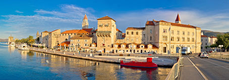 UNESCO town of Trogir panorama Stock Photography