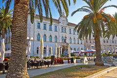 UNESCO town of Trogir waterfront architecture Royalty Free Stock Photos