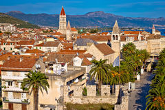 UNESCO town of Trogir waterfront and architecture Royalty Free Stock Image