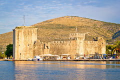 UNESCO town of Trogir waterfront Royalty Free Stock Photos