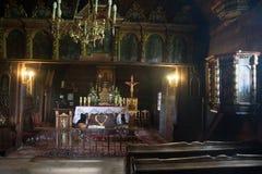 Unesco-träkyrkor i Polen Royaltyfria Bilder