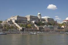 Unesco van Hongarije - van Boedapest - Buda-Koninklijke van het paleis van kasteelaka worl Stock Afbeelding