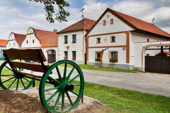 UNESCO village Holasovice Stock Photo