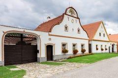 UNESCO village Holasovice Stock Photography
