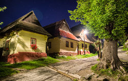 UNESCO village Vlkolinec, Slovakia Royalty Free Stock Images
