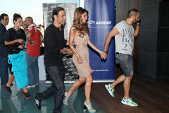 UNESCO welcomes the journalist and actress Maria Menounos Stock Photo