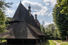 Unesco Wooden churches in Poland Stock Images