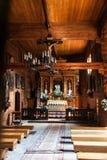Unesco Wooden churches in Poland Stock Photos