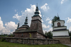 Unesco Wooden churches in Poland Stock Photo