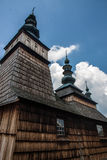 Unesco Wooden churches in Poland Royalty Free Stock Photography