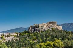 ATHENS ACROPOLIS. UNESCO WORLD HERITAGE, ACROPOLI OF ATHENS stock photo