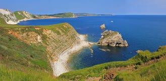 Unesco world heritage jurassic coast Stock Photography