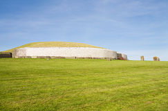 UNESCO World Heritage - Newgrange in Ireland royalty free stock photography