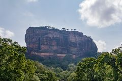 UNESCO world heritage site `fortress in the sky`. Sigiriya. Sri lanka. royalty free stock image