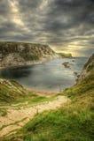 UNESCO World Heritage Site Jurassic Coast England Royalty Free Stock Photo