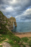 UNESCO World Heritage Site Jurassic Coast England Royalty Free Stock Photo