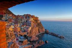 UNESCO World Heritage Site of Manarola. Cinque Terre, Italy Royalty Free Stock Image