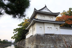The UNESCO World Heritage Site - Nijo Castle. Is a flatland castle located in Kyoto, Japan Royalty Free Stock Photo
