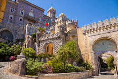 Pena National Palace in Sintra, Portugal Stock Images